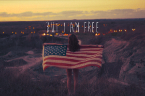 but i am free