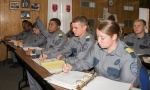 In-service cadets spend many hours in the classroom receiving core cirriculum instruction.